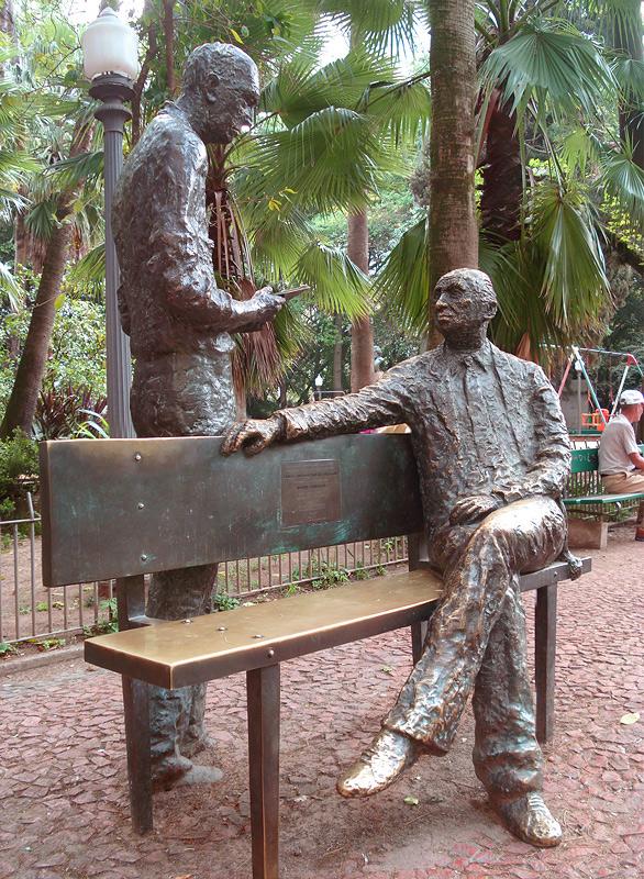 Mário Quintana e Carlos Drummond