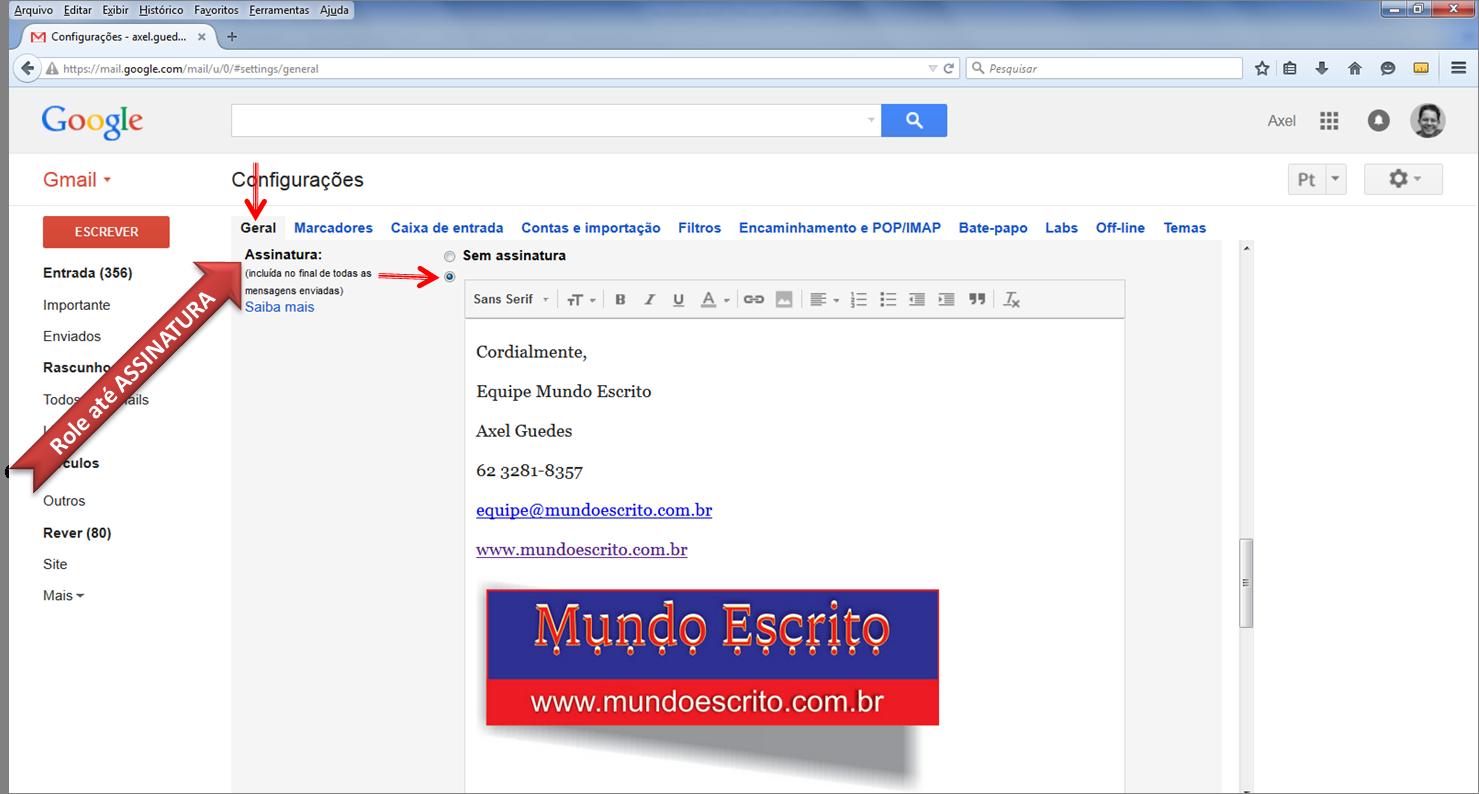 Como enviar fotos por email gmail 64