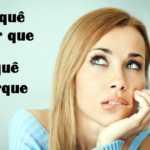 Uso dos porquês na língua portuguesa