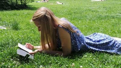 leitura entretida na leitura