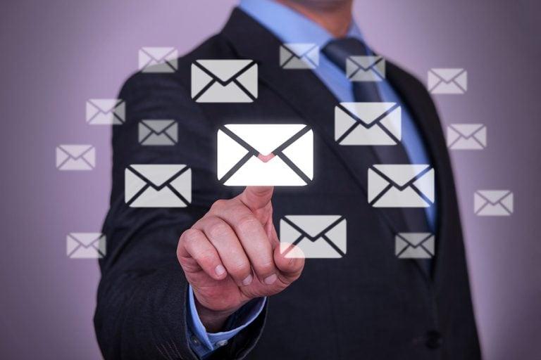 email escolhido