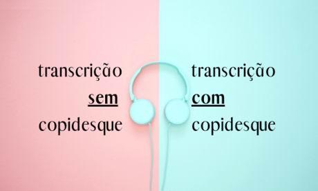 Modelos de transcrição de áudios