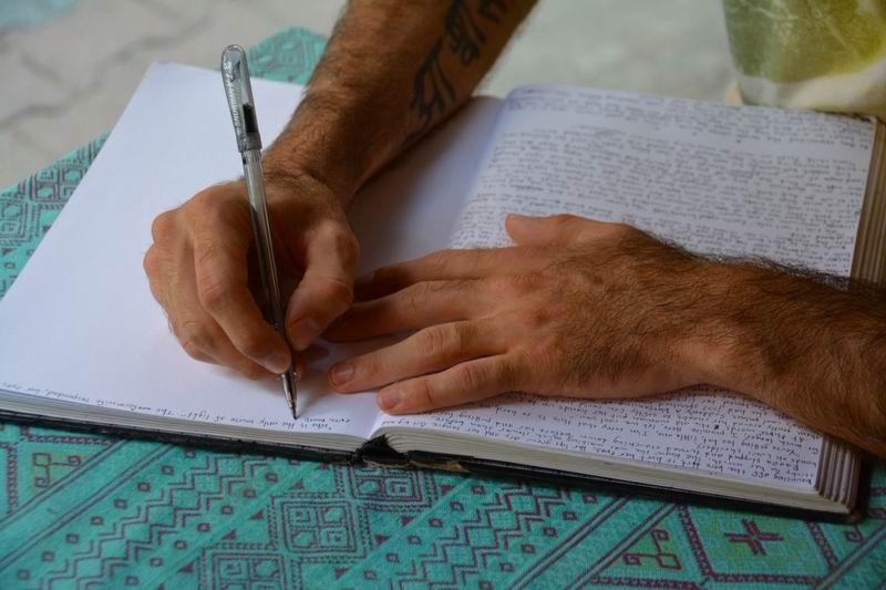 Quando você vai começar a escrever o seu livro?