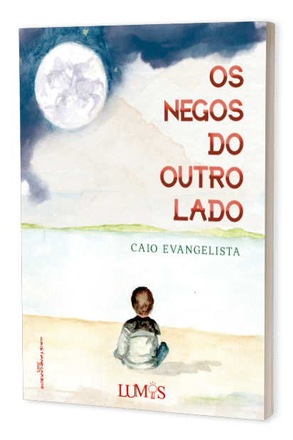 """Caio Evangelista lança seu livro """"Os Negos do Outro Lado"""", em 4 de junho"""